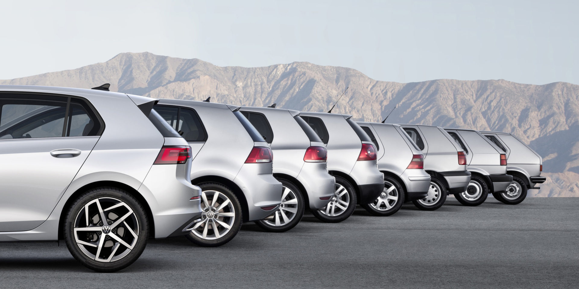 Volkswagen Golf, acht generaties